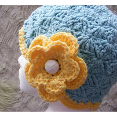Sunshine And Shells Cloche Chemo Cap Crochet Pattern By Christina