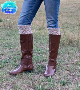 Celtic Cable Boot Toppers