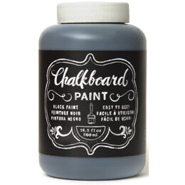 American Crafts DIY Shop Chalkboard Paint 16.5oz - Black
