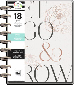 The Happy Planner Sophisticated Florals Classic 18 Month Planner