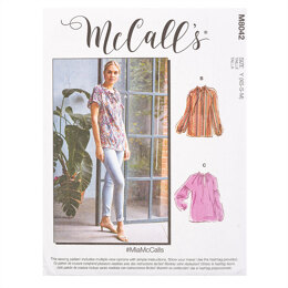 McCall's #MiaMcCalls - Misses' Tops M8042 - Sewing Pattern