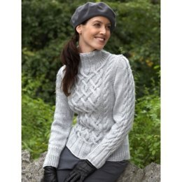 Sterling Cables Sweaters in Bernat Satin