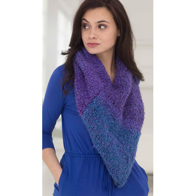 Twilight Cowl In Lion Brand Homespun Thick Quick L40047