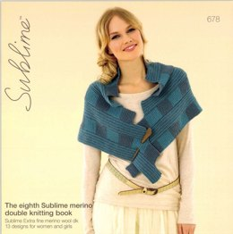 The Eighth Sublime Merino Double Knitting Book By Sublime