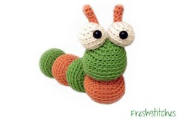 Amigurumi Alastair the Caterpillar