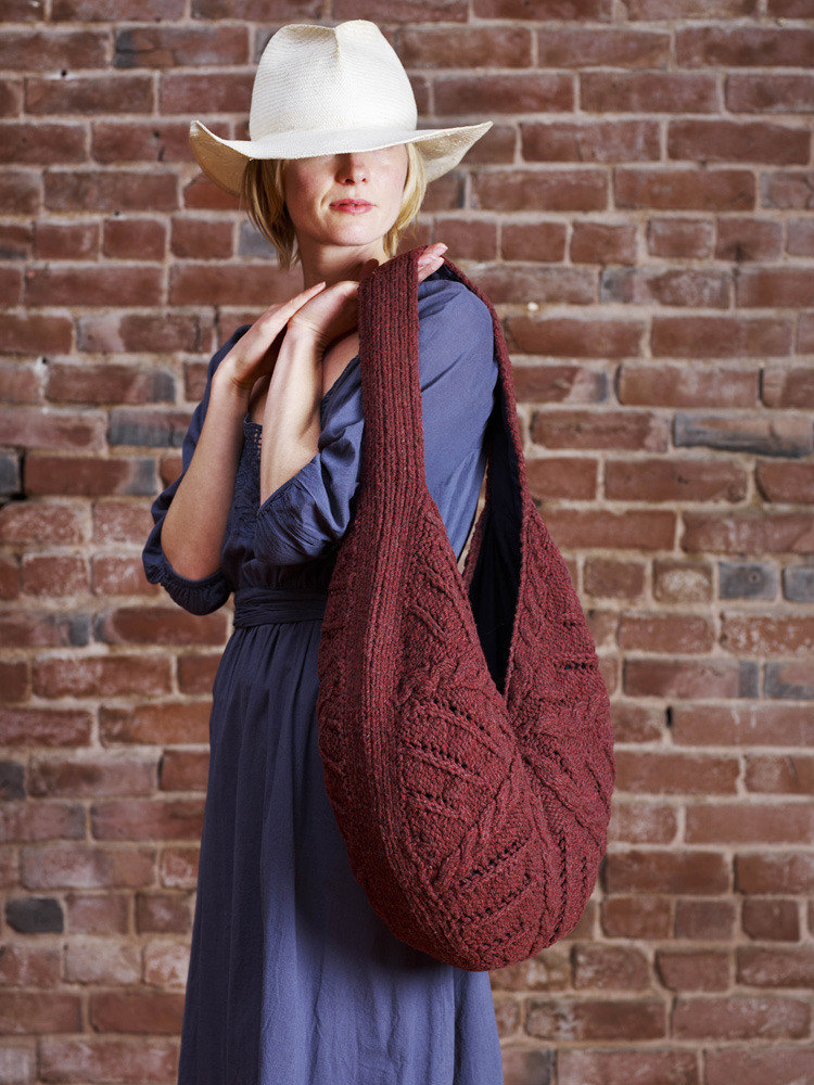 Raindrop Bag In Imperial Yarn Columbia Pc10