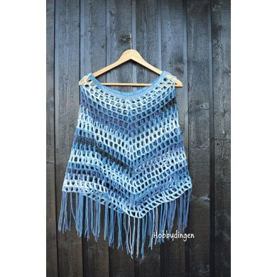 Simple Boho Poncho