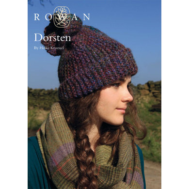 Dorsten Hat in Rowan Colourspun