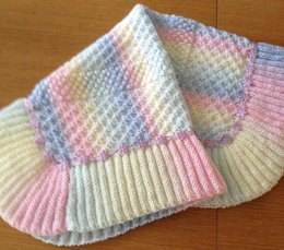Rainbow Dust Baby Blanket