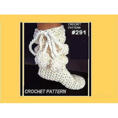 291 SLOUCHIE BOOT SLIPPERS