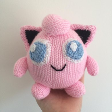 Amigurumi Jigglypuff Pattern : Jigglypuff pokemon toy amigurumi Knitting pattern by Emma ...
