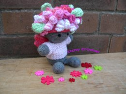 Inchoate Rose Fairy Sweater and Wig Set