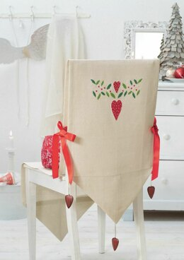 Enchanting Christmas - Chair Cover in Anchor - Downloadable PDF