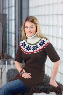 Damenpullover mit Rundpasse in Schachenmayr Merino Extrafine 85 - S7049 - Downloadable PDF