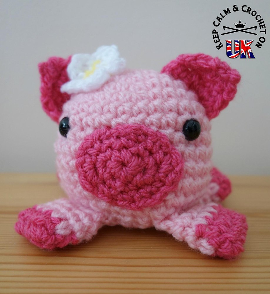 Doodle Zoo 6: Petunia the Pig Crochet pattern by Keep Calm
