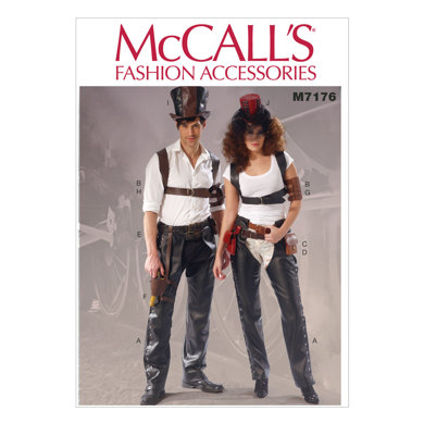 McCall's Misses'/Men's Accessories M7176 - Paper Pattern Size All Sizes in One Envelope