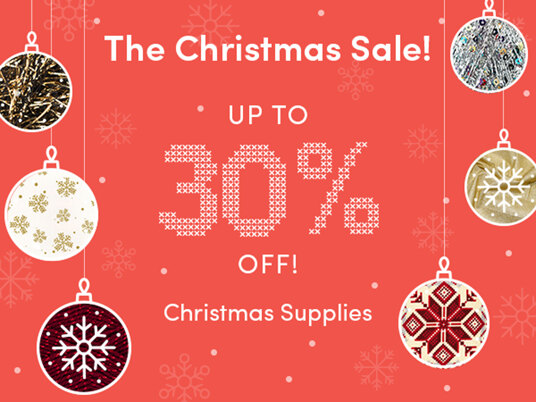 BIG CHRISTMAS DEAL! Up to 30 percent off Christmas supplies!