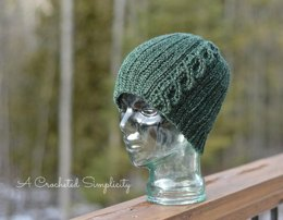 """""""Knit-Look"""" Cabled or Not Beanie"""