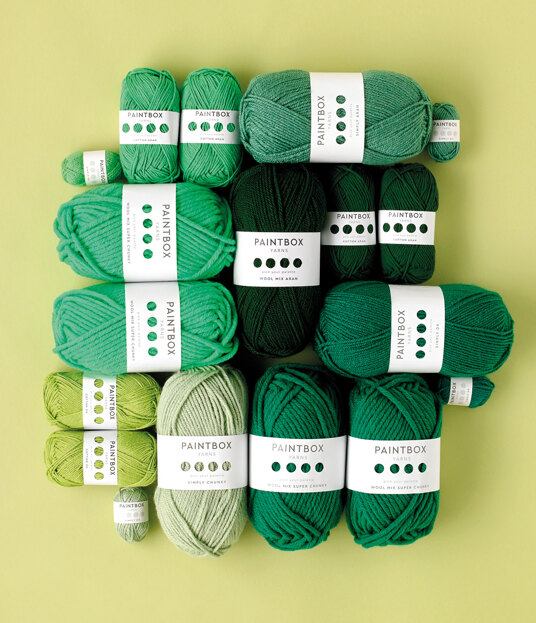 Paintbox Yarns Greens