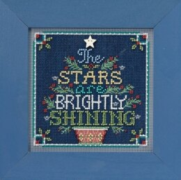 Mill Hill Brightly Shining Cross Stitch Kit - 13.33cm x 13.33cm