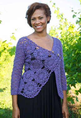 Marseille Cardigan in Berroco Vintage DK - Downloadable PDF