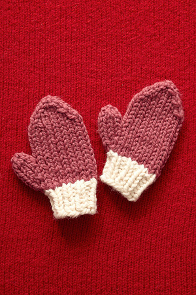 Valentine S Day Mittens In Lion Brand Wool Ease Thick