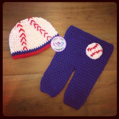 Baseball Set Crochet Pattern By First Twin Company Crochet