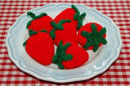 Crochet Pattern for Strawberries / Fruit - Crochet Picnic / Toy Food