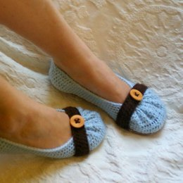 Cute as a button Adult Slipper