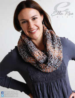 Infinity Scarf in Ella Rae Twist - ER12-04 - Downloadable PDF