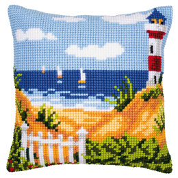 Vervaco Seascape Cushion Front Chunky Cross Stitch Kit