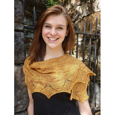 Webfoot Shawl and Scarf