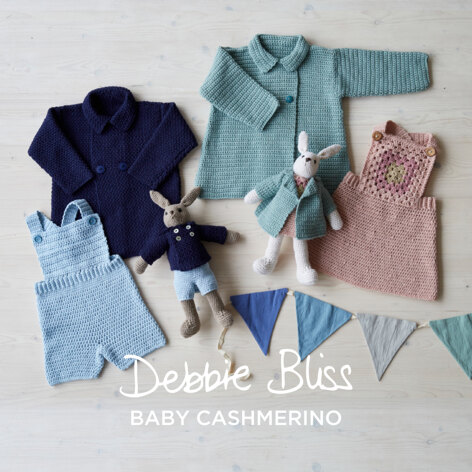 Me and My Friend - Layette Crochet Pattern For Toddlers in Debbie Bliss Baby Cashmerino by Debbie Bliss