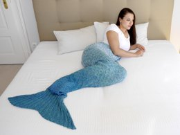 Mermaid Blanket ADULTS - No.148E