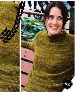 Cashmere Pullover in Hand Maiden 4 Ply Cashmere