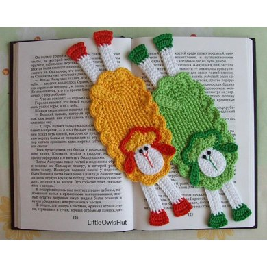 054 Sheep Bookmark or decor Amigurumi