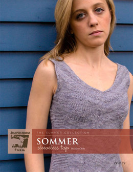 Sommer Sleeveless Top in Juniper Moon Zooey - Downloadable PDF