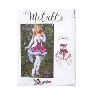 McCall's Misses' Costume M8074 - Sewing Pattern