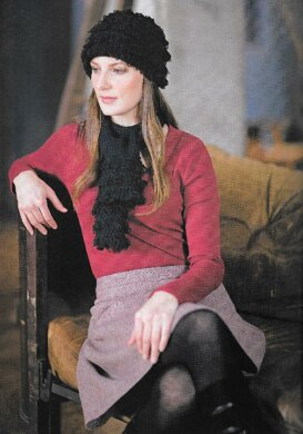 Pagoda hat and scarf