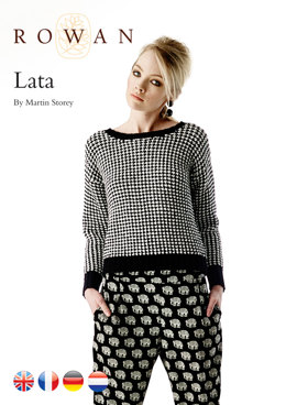 Lata Sweater in Rowan Handknit Cotton