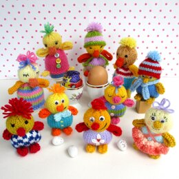10 Cheerful Chicks