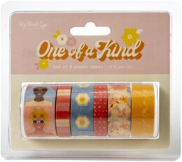 My Minds Eye One Of A Kind Washi 6/Pkg - 10' Per Roll