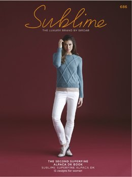 The Second Sublime Superfine Alpaca DK Book