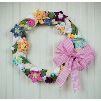 Spring Wreath in Universal Yarn Cotton Supreme