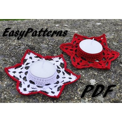 Star Candle Holder Pattern