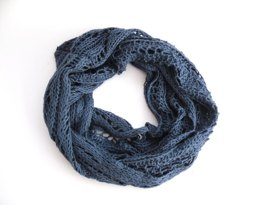 Lace Columns Infinity Scarf