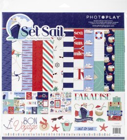 "Photoplay Paper PhotoPlay Collection Pack 12""X12"" - Set Sail"