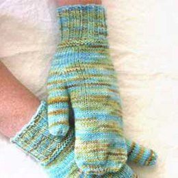 Simply Mittens in Madelinetosh Tosh Sock