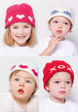 Baby Smilla Hats in MillaMia Naturally Soft Merino - Leaflet