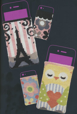 Anchor Stitchable Phone Holders Tapestry Kit - Multi